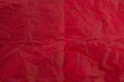 κόκκινο εγγράφου ανασκό&p Στοκ εικόνες με δικαίωμα ελεύθερης χρήσης