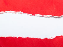 κόκκινο εγγράφου Στοκ Εικόνα