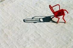 κόκκινο εδρών Στοκ Εικόνα