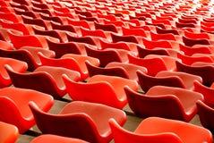 κόκκινο εδρών Στοκ Εικόνες