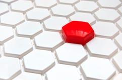 Κόκκινο εικονοκύτταρο Στοκ Φωτογραφία