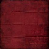 Κόκκινο εκλεκτής ποιότητας έγγραφο Χριστουγέννων στοκ φωτογραφία με δικαίωμα ελεύθερης χρήσης