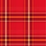 κόκκινο ελέγχων Στοκ εικόνα με δικαίωμα ελεύθερης χρήσης
