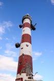 κόκκινο λευκό φάρων Στοκ εικόνες με δικαίωμα ελεύθερης χρήσης