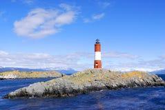 κόκκινο λευκό φάρων Στοκ Φωτογραφία