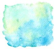 κόκκινο λευκό watercolor κτυπημάτων χρωμάτων Στοκ εικόνες με δικαίωμα ελεύθερης χρήσης