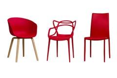κόκκινο εδρών Μέρος 1 Στοκ φωτογραφία με δικαίωμα ελεύθερης χρήσης