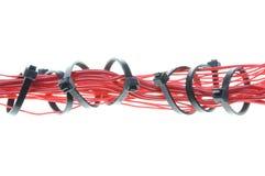 Κόκκινο ηλεκτρικό καλώδιο Στοκ φωτογραφίες με δικαίωμα ελεύθερης χρήσης