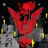 κόκκινο θανάτου διανυσματική απεικόνιση