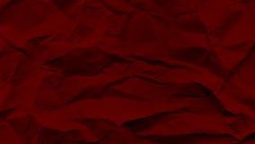 Κόκκινο θρυμματισμένο έγγραφο Στοκ εικόνα με δικαίωμα ελεύθερης χρήσης