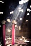 Κόκκινο θυμίαμα Στοκ φωτογραφίες με δικαίωμα ελεύθερης χρήσης