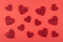 κόκκινο διάνυσμα αγάπης απεικόνισης ανασκόπησης Στοκ φωτογραφία με δικαίωμα ελεύθερης χρήσης