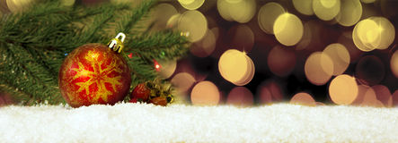 κόκκινο διάνυσμα απεικόνισης Χριστουγέννων σφαιρών ανασκόπησης Στοκ Εικόνες