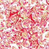 Κόκκινο διάνυσμα τριαντάφυλλων Ελεύθερη απεικόνιση δικαιώματος