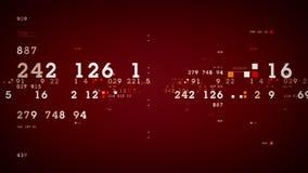 Κόκκινο διαγραμμάτων απόδοσης αποθεμάτων ελεύθερη απεικόνιση δικαιώματος