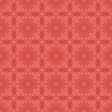 Κόκκινο διακοσμητικό άνευ ραφής σχέδιο γραμμών Στοκ εικόνες με δικαίωμα ελεύθερης χρήσης