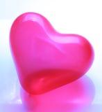 Κόκκινο διαμορφωμένο καρδιά μπαλόνι Στοκ Εικόνες