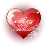 κόκκινο διανυσματικό λευκό απεικόνισης καρδιών ανασκόπησης Στοκ Εικόνες