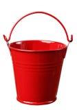 κόκκινο κάδων Στοκ εικόνα με δικαίωμα ελεύθερης χρήσης