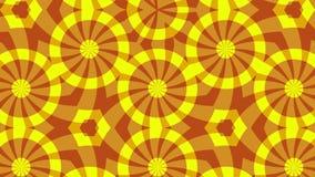 Κόκκινο κίτρινο υπόβαθρο που αλλάζει τη μορφή στοκ φωτογραφία με δικαίωμα ελεύθερης χρήσης