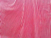 Κόκκινο και άσπρο ύφασμα Στοκ εικόνα με δικαίωμα ελεύθερης χρήσης