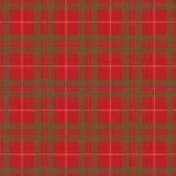 Κόκκινο και πράσινο διάνυσμα σχεδίων καρό Χριστουγέννων Στοκ φωτογραφίες με δικαίωμα ελεύθερης χρήσης