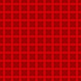 Κόκκινο και σκούρο κόκκινο σχέδιο κυττάρων Στοκ φωτογραφία με δικαίωμα ελεύθερης χρήσης