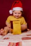 κόκκινο καπέλων μωρών στοκ εικόνες με δικαίωμα ελεύθερης χρήσης