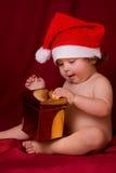 κόκκινο καπέλων μωρών στοκ φωτογραφία με δικαίωμα ελεύθερης χρήσης
