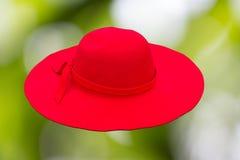 Κόκκινο καπέλο Στοκ εικόνες με δικαίωμα ελεύθερης χρήσης