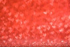 κόκκινο καρδιών ανασκόπησης Στοκ φωτογραφία με δικαίωμα ελεύθερης χρήσης