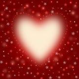 κόκκινο καρδιών ανασκόπησ& Στοκ εικόνα με δικαίωμα ελεύθερης χρήσης