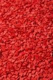 κόκκινο καρδιών Σύμβολο της αγάπης Στοκ Εικόνες