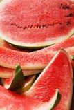 κόκκινο καρπούζι λεπτομέ&r Στοκ Φωτογραφίες