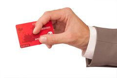 κόκκινο καρτών Στοκ φωτογραφίες με δικαίωμα ελεύθερης χρήσης