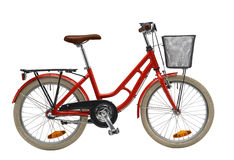 κόκκινο κατσικιών ποδηλά&ta Στοκ Εικόνες