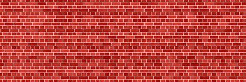Κόκκινο καφετί αφηρημένο υπόβαθρο τουβλότοιχος Σύσταση των τούβλων διανυσματική απεικόνιση