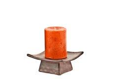 Κόκκινο κερί Στοκ εικόνες με δικαίωμα ελεύθερης χρήσης
