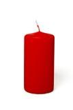 κόκκινο κεριών Στοκ Εικόνες