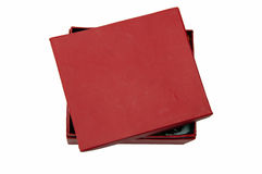 κόκκινο κιβωτίων Στοκ φωτογραφίες με δικαίωμα ελεύθερης χρήσης