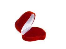 κόκκινο κιβωτίων jewely στοκ εικόνα με δικαίωμα ελεύθερης χρήσης