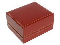 κόκκινο κιβωτίων jewely Στοκ Εικόνα