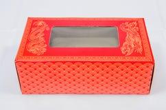 Κόκκινο κιβώτιο Στοκ εικόνα με δικαίωμα ελεύθερης χρήσης