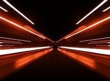 κόκκινο κινήσεων θαμπάδων Στοκ φωτογραφία με δικαίωμα ελεύθερης χρήσης