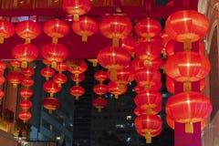 Κόκκινο κινεζικό φανάρι Στοκ εικόνα με δικαίωμα ελεύθερης χρήσης