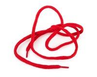 Κόκκινο κορδόνι Στοκ φωτογραφίες με δικαίωμα ελεύθερης χρήσης