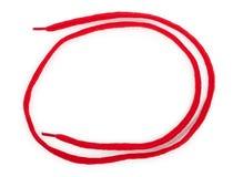 Κόκκινο κορδόνι Στοκ φωτογραφία με δικαίωμα ελεύθερης χρήσης