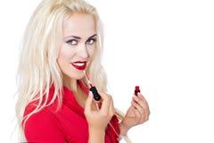 Κόκκινο κραγιόν Στοκ φωτογραφία με δικαίωμα ελεύθερης χρήσης