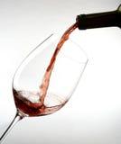 κόκκινο κρασί γυαλιού Στοκ εικόνες με δικαίωμα ελεύθερης χρήσης