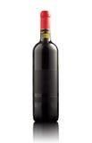 κόκκινο κρασί ετικετών μπ&omic Στοκ εικόνες με δικαίωμα ελεύθερης χρήσης